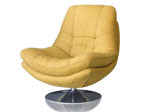 Axis swivel chair in gold