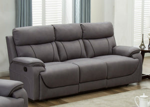 The Violet fabric reclining range