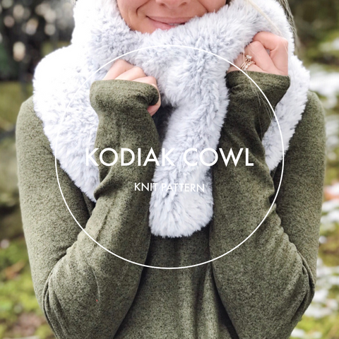 Kodiak Cowl Pattern | KNIT