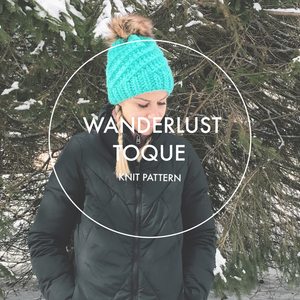 Wanderlust Toque KNIT PATTERN