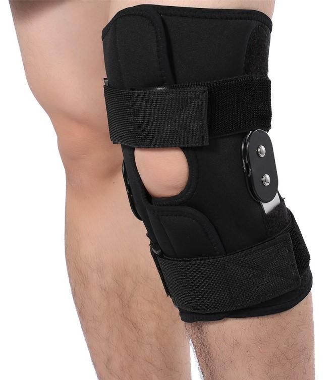 Knee Brace Dual Hinged with Open Patella Stabilizer ACL LCL MCL Support