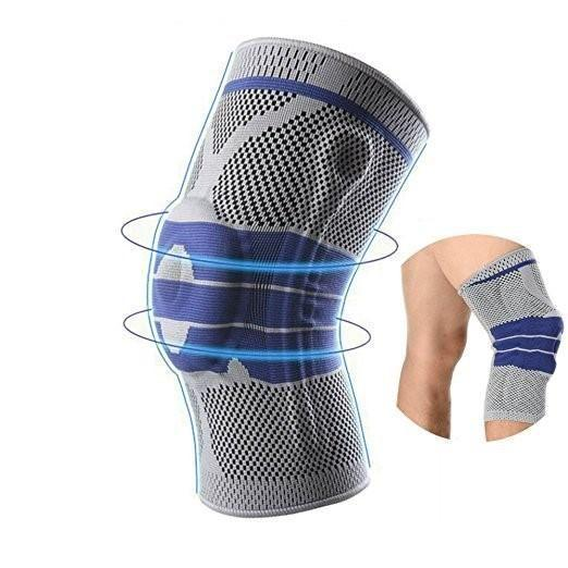 Compression Knee Sleeve Brace with Patella Meniscus Stabilizer Support