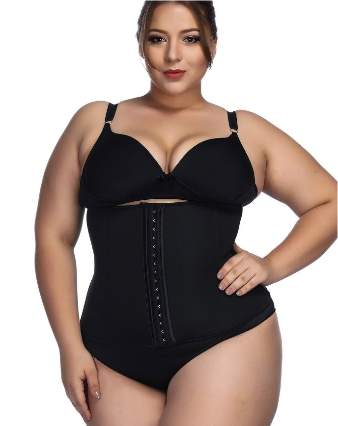 Plus Size Waist Cincher - 3 Way Adjustable Corset!