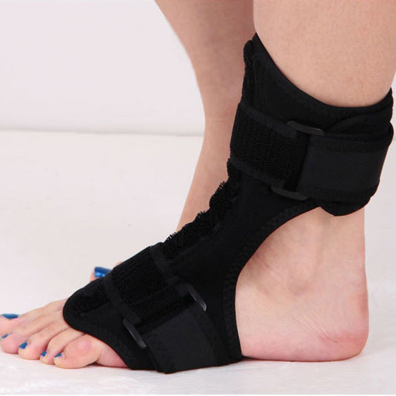 Plantar Fasciitis Dorsal Night Splint AFO Orthotic Drop Foot Brace - Heel Pain Relief