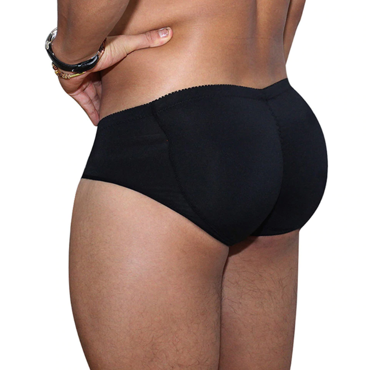 Men's Butt Enhancing Briefs with Natural Looking Pads