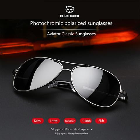 Buy 1 Get 1 Free丨Free Shipping Photochromic polarized sunglasses【100% UV protection+Full glare banner+High definition visual】