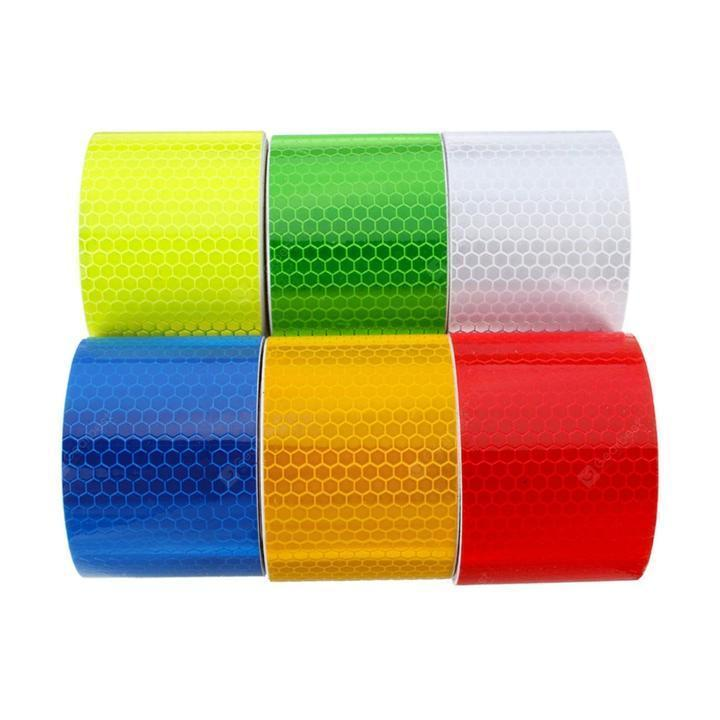 Car Safety Reflective Sticker PVC Warning 3m Tape