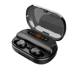 Bluetooth 5.0 Wireless Earbuds Headphones IPX-7 Waterproof Fast Charging 2019 TWS V11 Latest Style