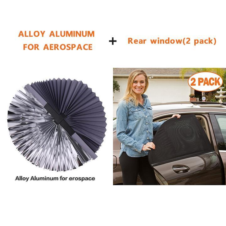 Car Retractable Sun Shade With UV Protection