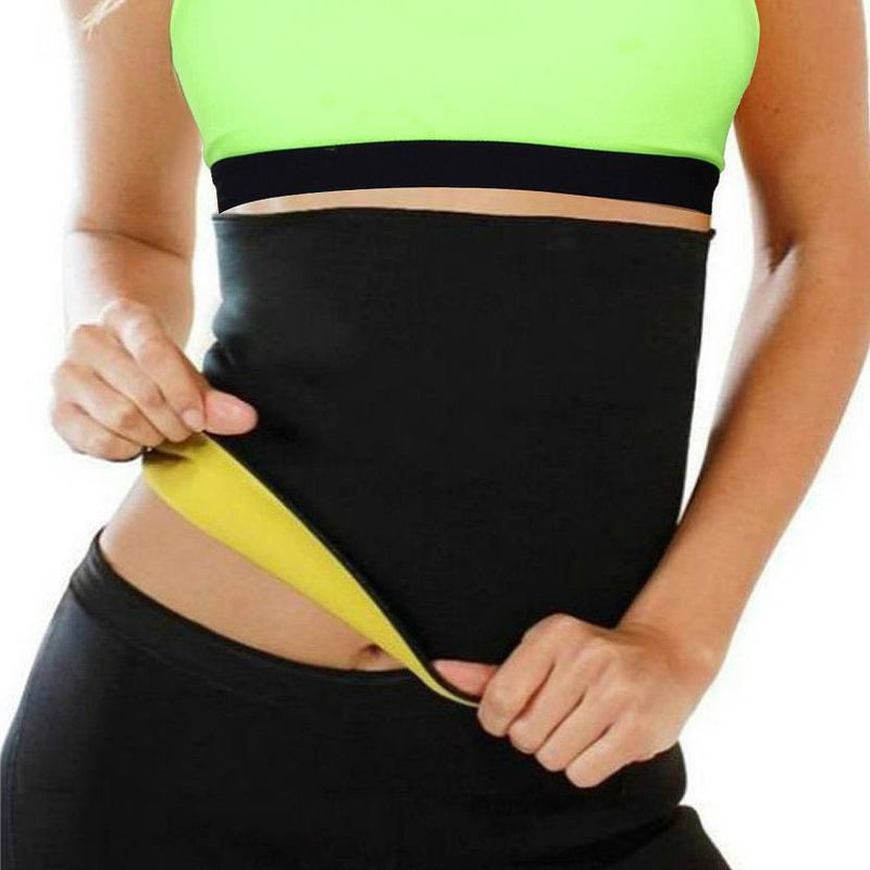 Waist Cincher Trimmer Sweat Belt Waist Trainer for Weight Loss