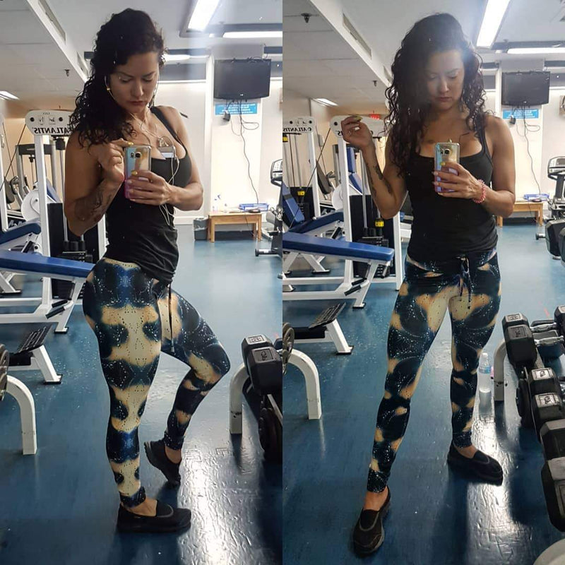High Waist Mystique Push Up Leggings