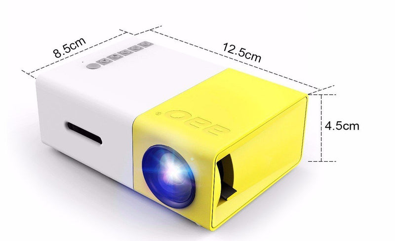 Portable LED Projector Home Cinema