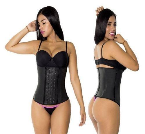 Waist Trainer Slimming Fajas Latex Cincher Corset Postpartum Trimmer