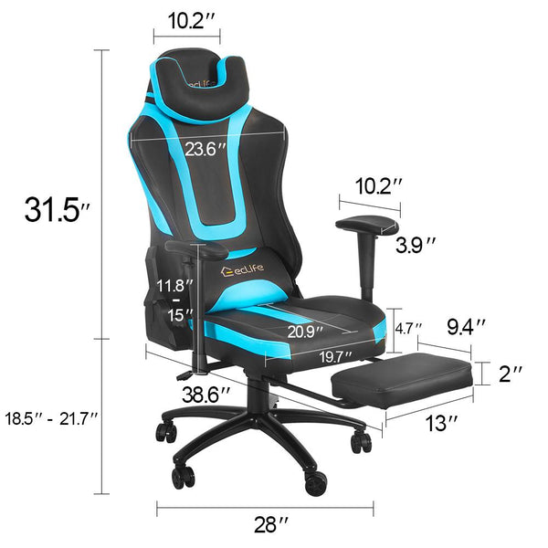 Massage Gaming Chair OF-D05BU-MF