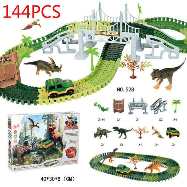 Dino World Track Set