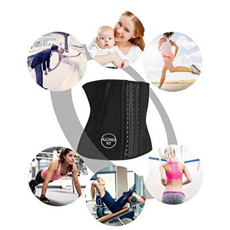 Everyday Waist Trainer Adjustable Underbust Latex Girdle/Corset & Body Shaper (2019 Collection)