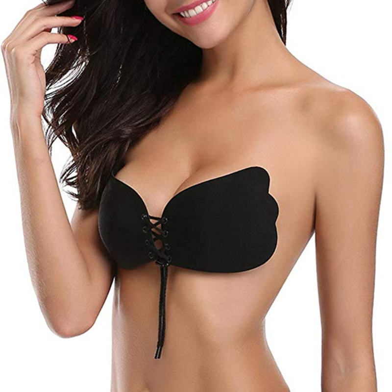 Backless, Strapless, Push-up Bra - Great for cleavage enhancement!