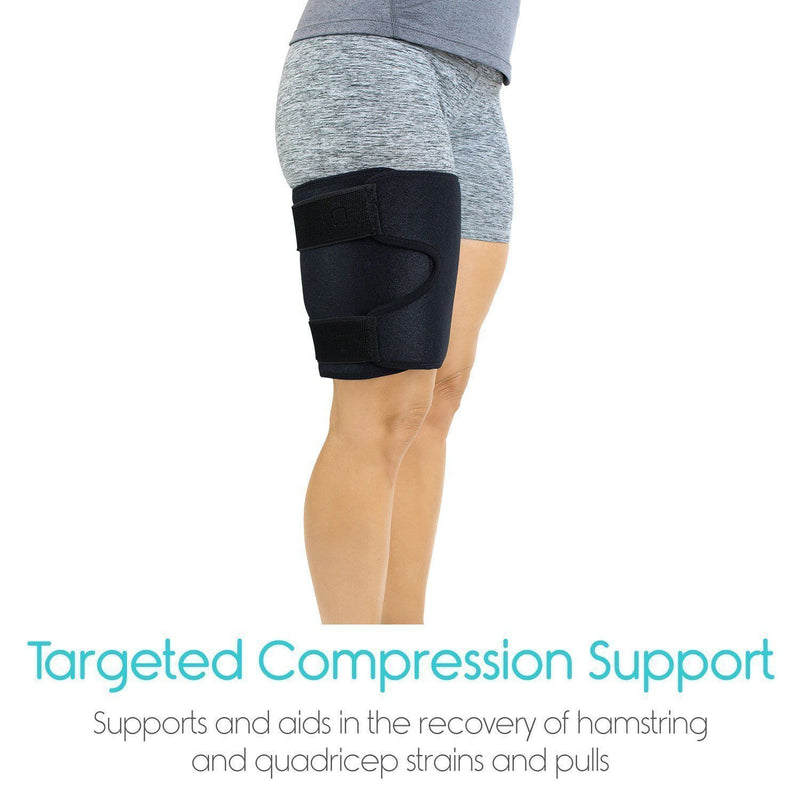 Thigh Compression Sleeve - Quad, Hamstring, Groin Support ~ Targeted Relief!