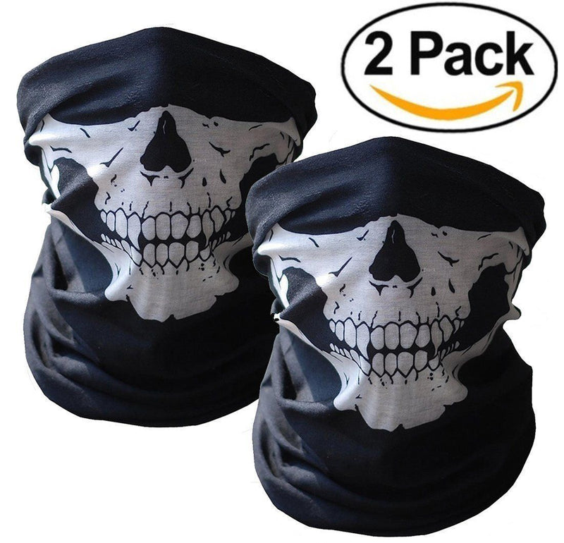 Skull Face Masks - Seamless ~Breathable Fabric!