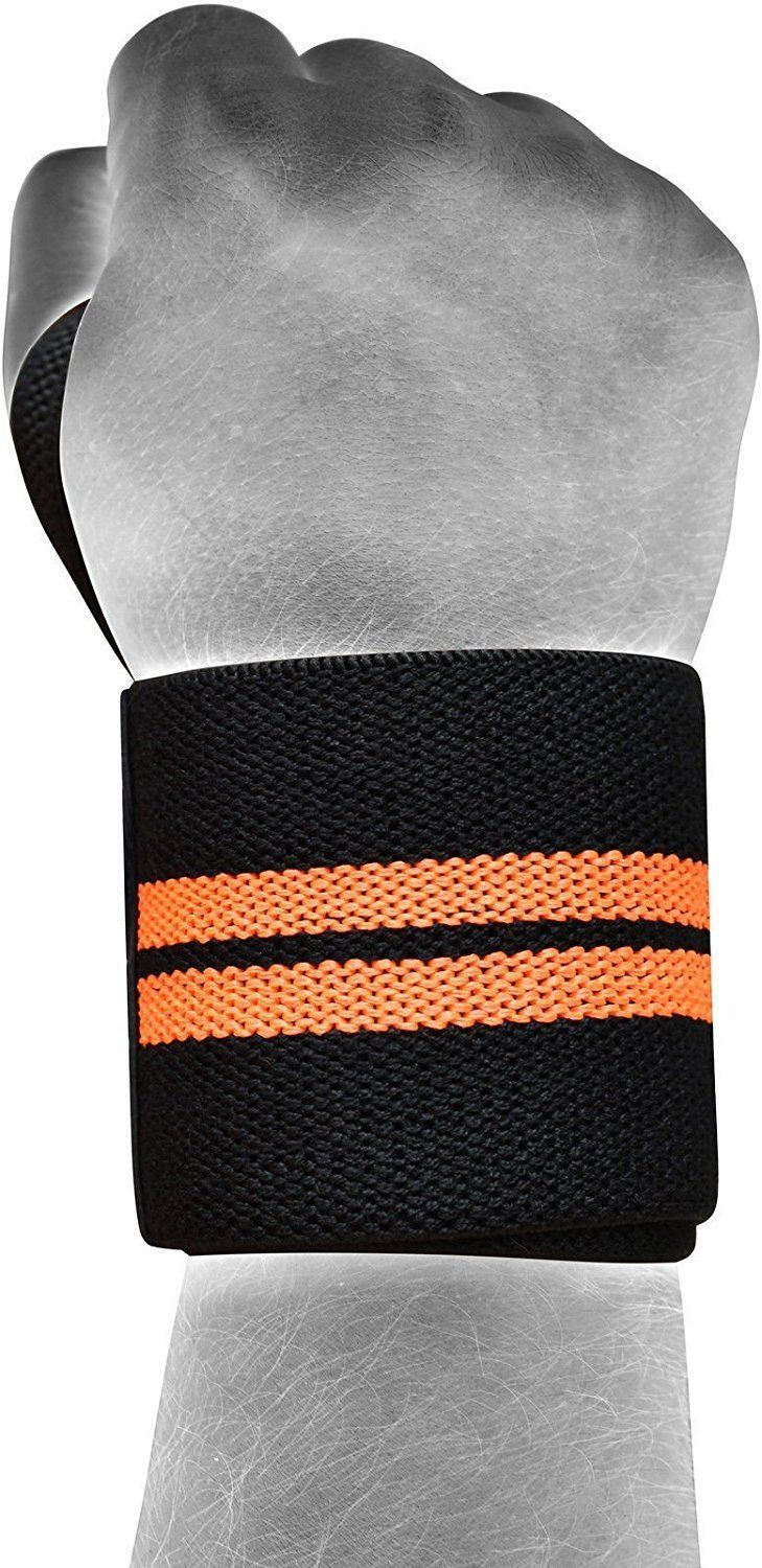 Wrist Wrap Fitness Weight Training Support Power Lifting Straps