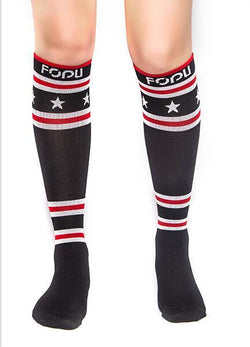 Fit Compression Socks with Graduated Target Zones 20-30 mmHg Support Stockings#5