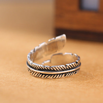 Adjustable Plume Ring