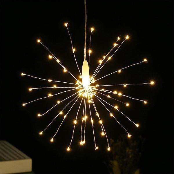 Led Solar Fireworks Lights