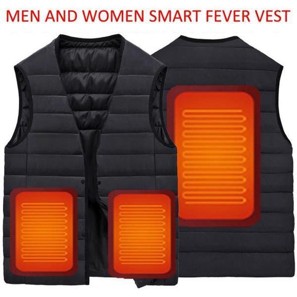 Unisex Usb Electric Heated Vests/Jacket 2019 Upgrade Lightweight