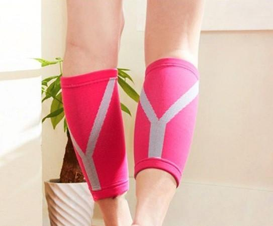Fashion Calf Compression Sleeves ~ Sporty & Athletic Design