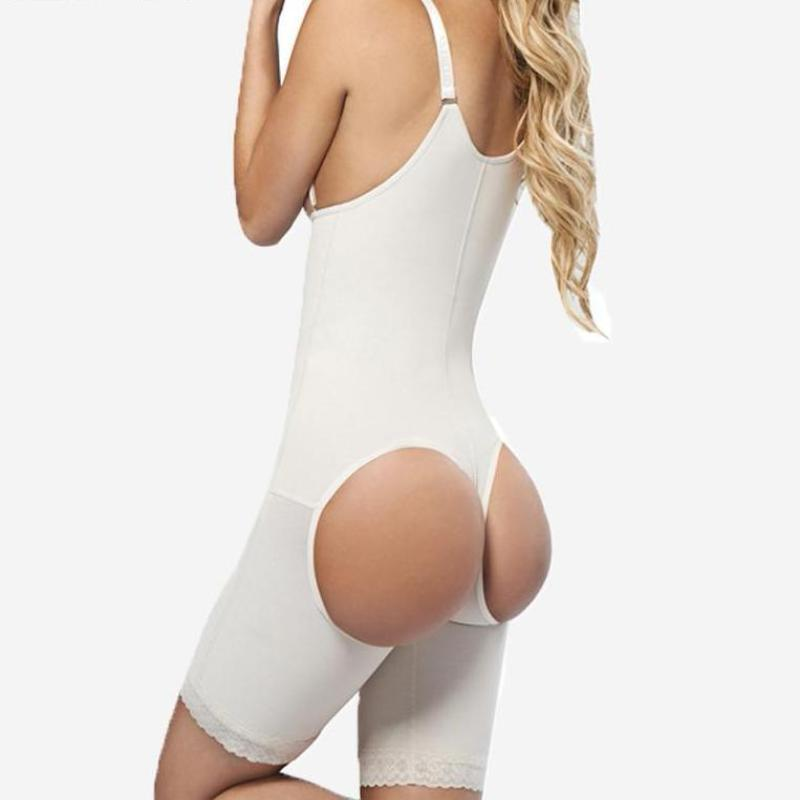 High Waist Butt Lifter Body Waist Shaper - Booty Shorts
