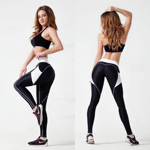 Pocket Heart Contour Leggings