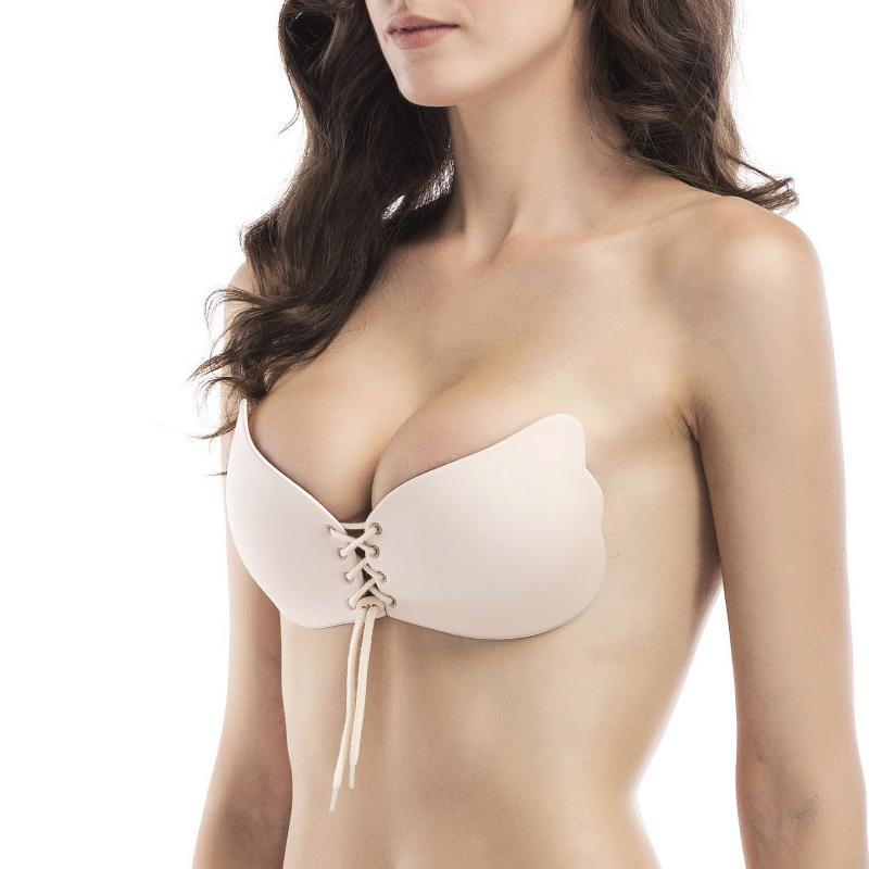 Push-Up Strapless Backless Invisible Bra