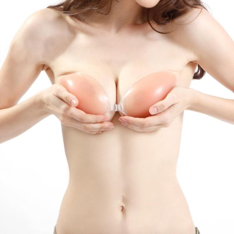 Strapless Backless Invisible Bra - 100% Silicone