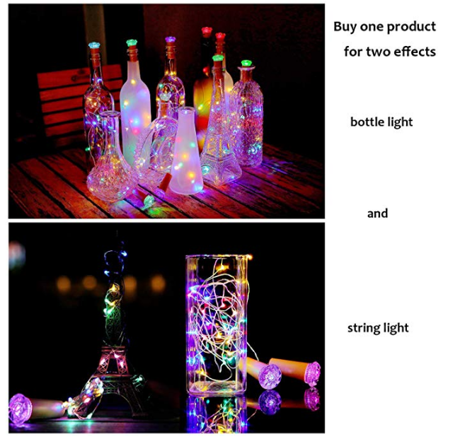 Flashing Wine Bottle Lights(4 Pack)