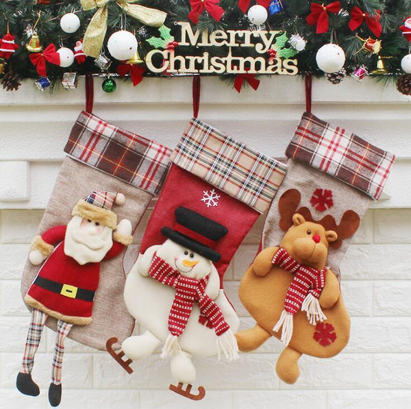 #6 Christmas Stocking Decorations