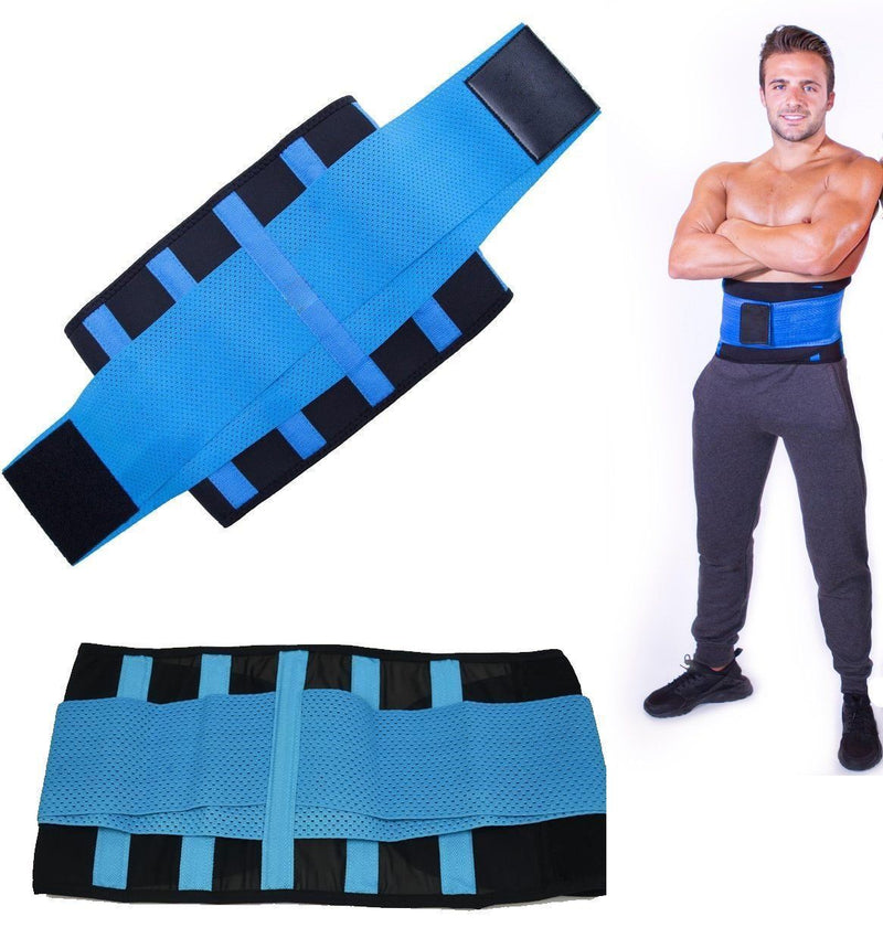 Waist Trainer for Men - Sweat Belt - Burn Stomach Fat!