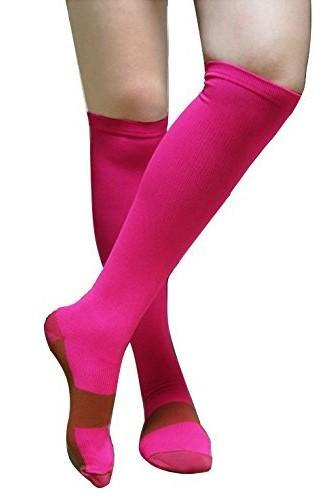 Copper Infused Compression Socks - Graduated Support Stockings