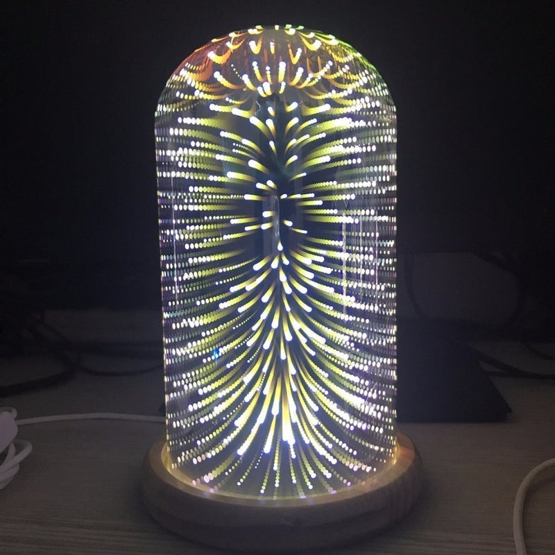 3D Glass Lamp