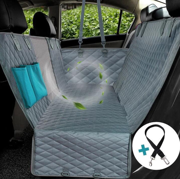 Waterproof Car Seat Cover (+ FREE SAFETY BELT!)