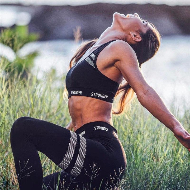 Stronger Push Up Leggings and Top Set