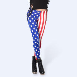 4TH OF JULY EXCLUSIVE - USA Flag Designer Leggings