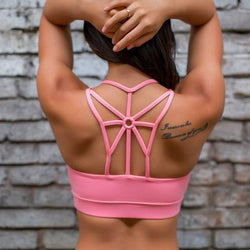 Butterfly Laced Workout Top