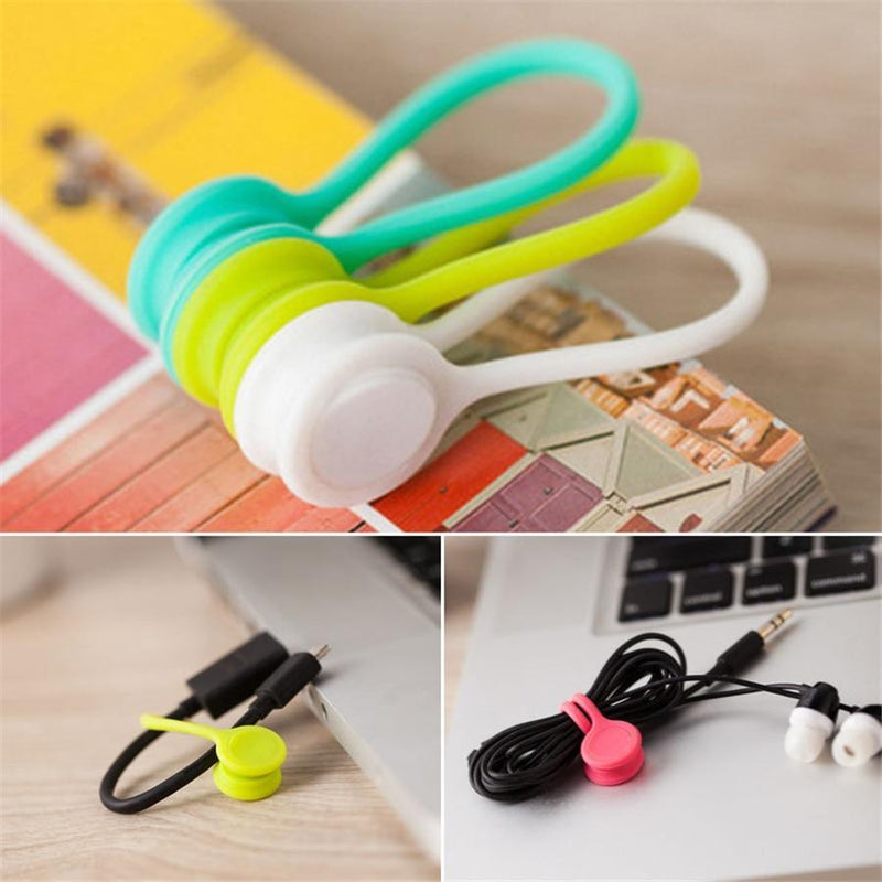 Magnetic Cable Clips Organizer