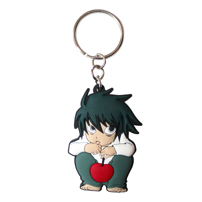 "Abysse Corp. DEATH NOTE PVC""L Keychains"