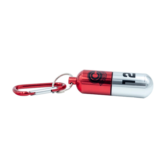 ABYstyle DRAGON BALL Z - Red Capsule Corp. 3D Keychain