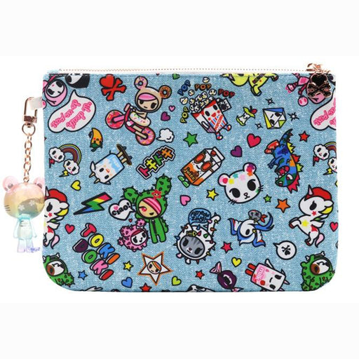 tokidoki Denim Daze Zip Pouch