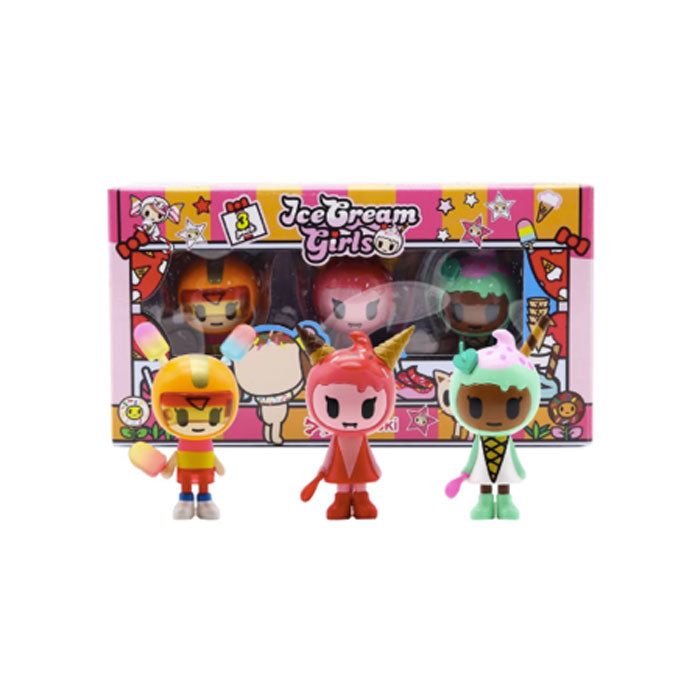 tokidoki Ice Cream Girls 3 Pack