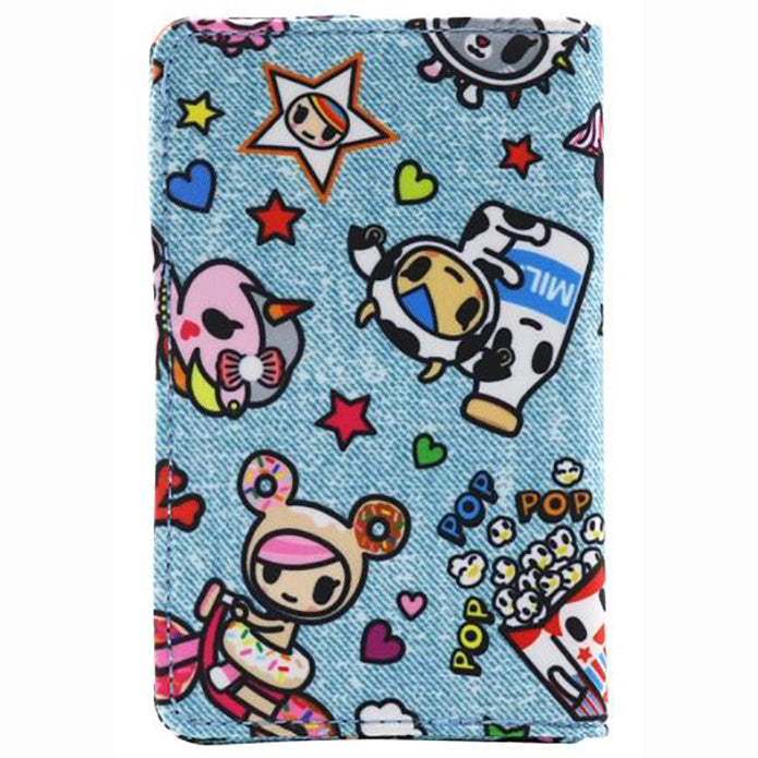 tokidoki Denim Daze Small Bifold Wallet