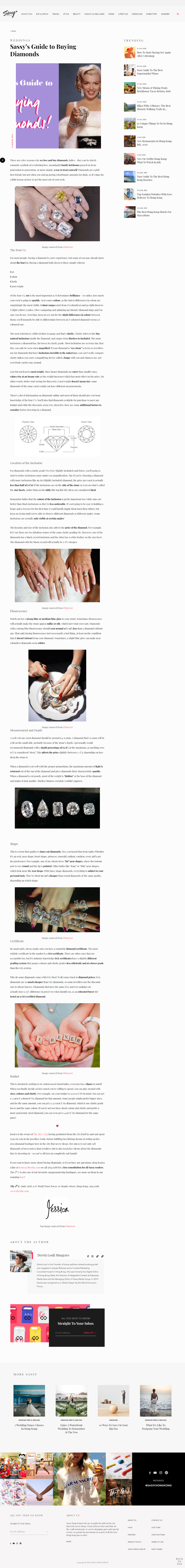 The 5th C_Sassy Hong Kong_Sassy's Guide to Buying Diamonds