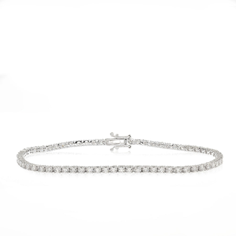 The5thC_Bracelets_Estelle_18k white gold diamond round brilliant diamonds